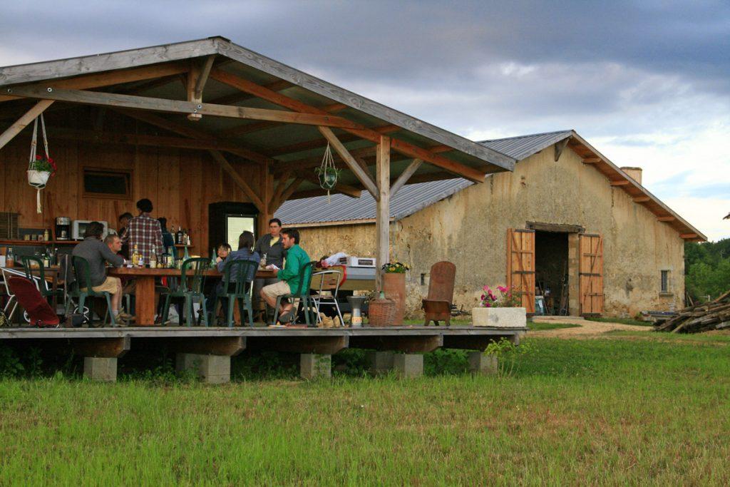 week end à la ferme en gironde